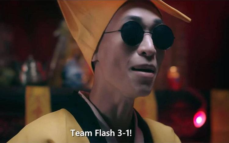 """""""Pháp sư Hoa Lư"""" bị các Flazers tấn công tới tấp sau khi chứng kiến Team Flash bị lội ngược dòng đầy nghiệt ngã"""