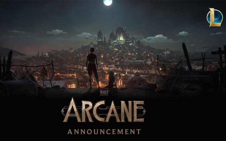 Sau nhiều ngày chờ đợi, series phim LMHT không thể bỏ qua Arcane chính thức ấn định ngày ra mắt