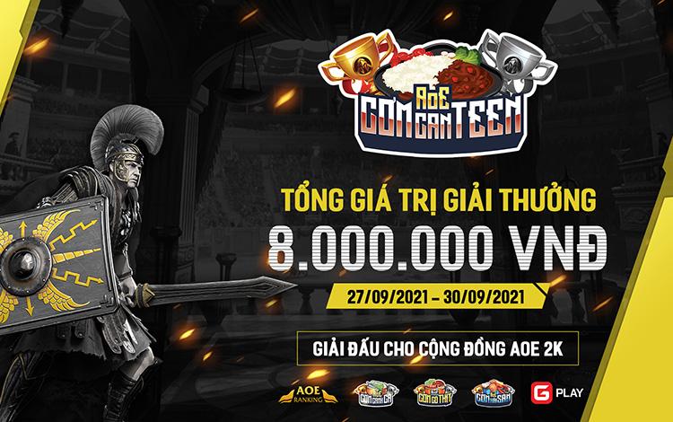 Thông cáo báo chí AoE Cơm Can Teen lần 2: Niềm hi vọng mới của AoE Việt Nam