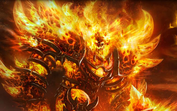 Bạn có biết? Phong thần, Hỏa thần từng tồn tại trong thế giới Dota?