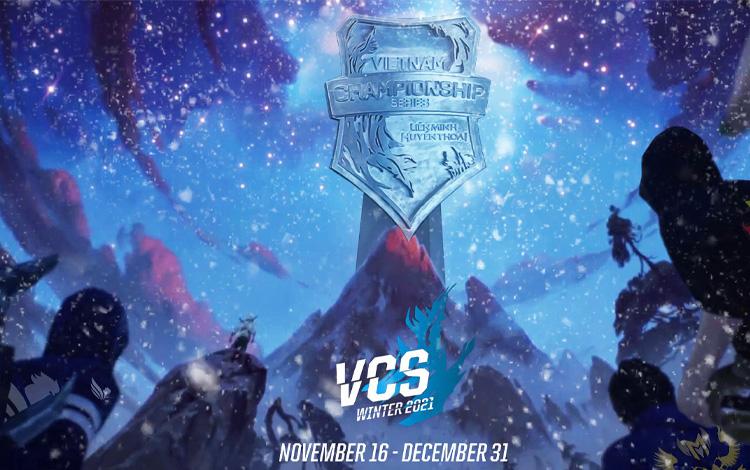 """Góc """"chơi trội"""": VCS lần đầu tiên trong lịch sử tổ chức giải Mùa Đông trong lúc cả thế giới nghỉ xả hơi sau CKTG 2021"""