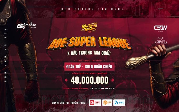 AoE Super League x Đấu Trường Tam Quốc: Thể thức thi đấu mới lạ lần đầu tiên xuất hiện thể loại Solo - quần chiến
