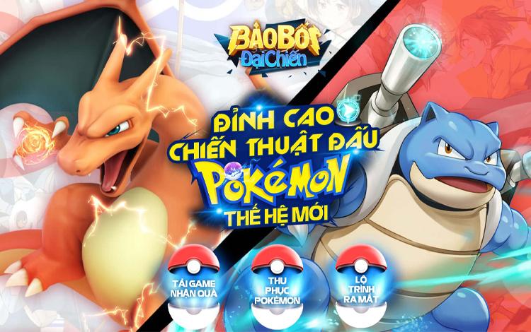 Bảo Bối Đại Chiến - Game đấu Pokémon thế hệ mới chính thức mở Landing, cho phép game thủ tải sớm nhận quà!
