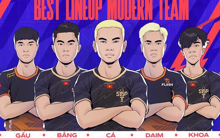 Thi đấu thăng hoa trở lại trong tuần 4 Đấu Trường Danh Vọng Mùa Đông 2021, các thần đồng có lần đầu tiên lọt vào đội hình tiêu biểu