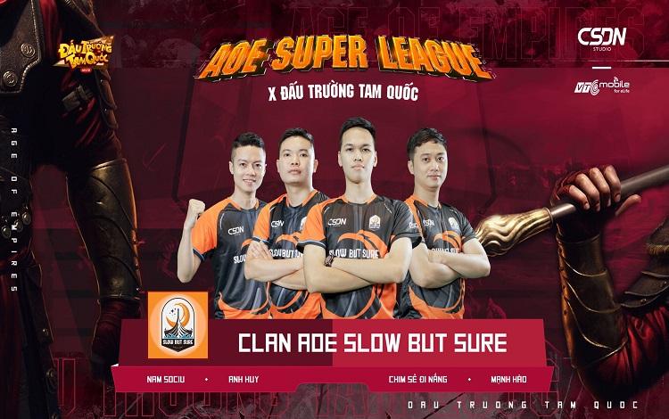 Công bố đội hình tham dự AoE Super League x Đấu trường Tam quốc