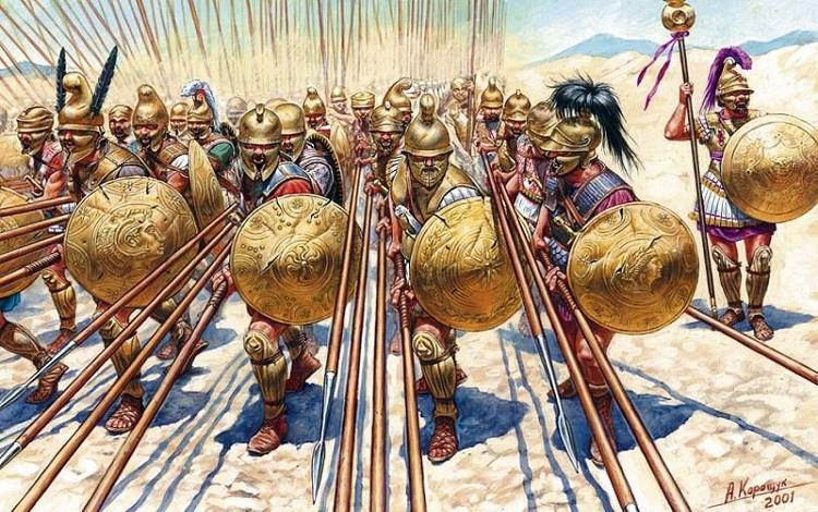 Macedonian - Đội quân không bánh xe hùng mạnh