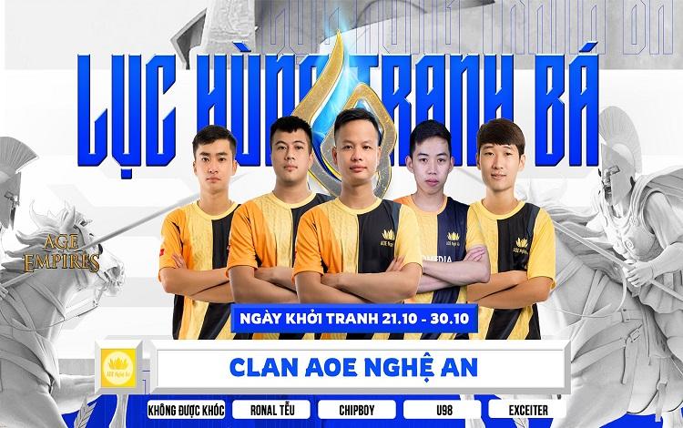 Bản Tin AoE ngày 17/10: No1 vắng mặt tại Lục Hùng Tranh Bá, AoE Nghệ An mất vui?