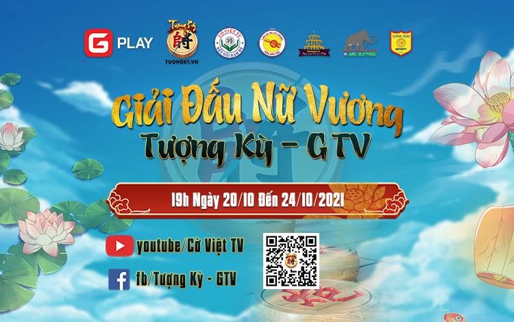 Thông cáo báo chí: Giải đấu Nữ Vương Tượng Kỳ GTV