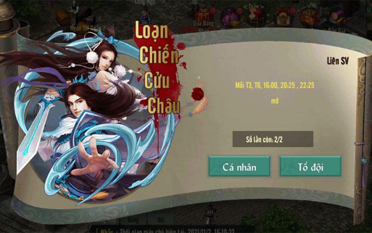 Chơi game sinh tồn theo kiểu Võ Lâm Truyền Kỳ 1 Mobile
