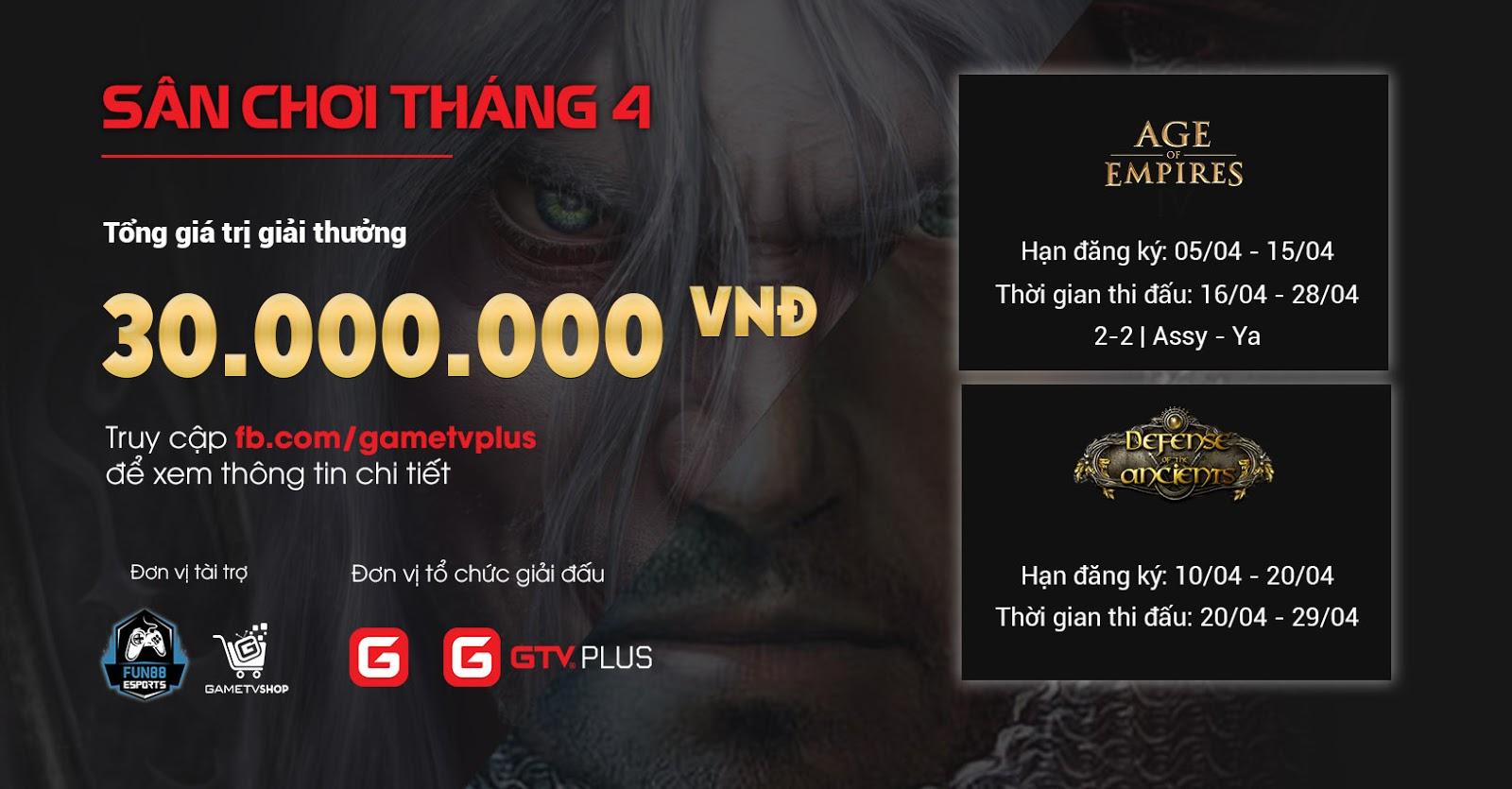 Dota 1 GameTV Plus khởi tranh, chính thức mở đăng kí