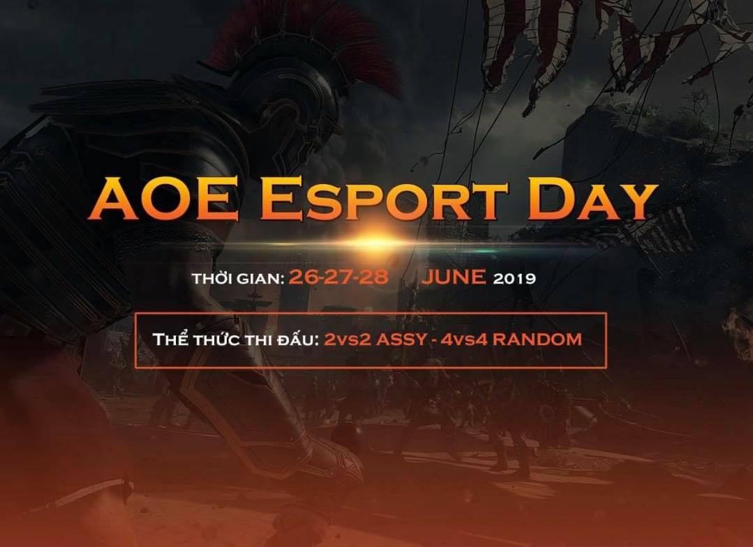[AoE] Thông báo chính thức về giải đấu AoE Esport Day