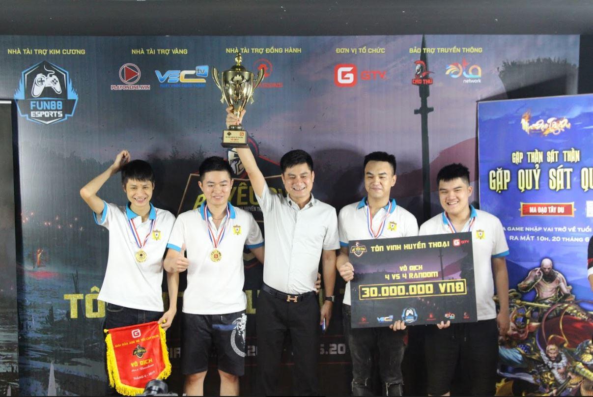 [AoE] Lễ Bế mạc AoE Bé Yêu Cup: Vinh danh những Nhà vô địch
