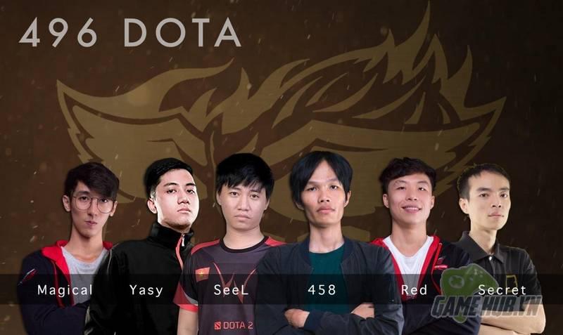 [DOTA 2] 496 làm rạng danh Dota 2 Việt Nam khi xuất sắc tiến vào vòng playoff của giải đấu khu vực
