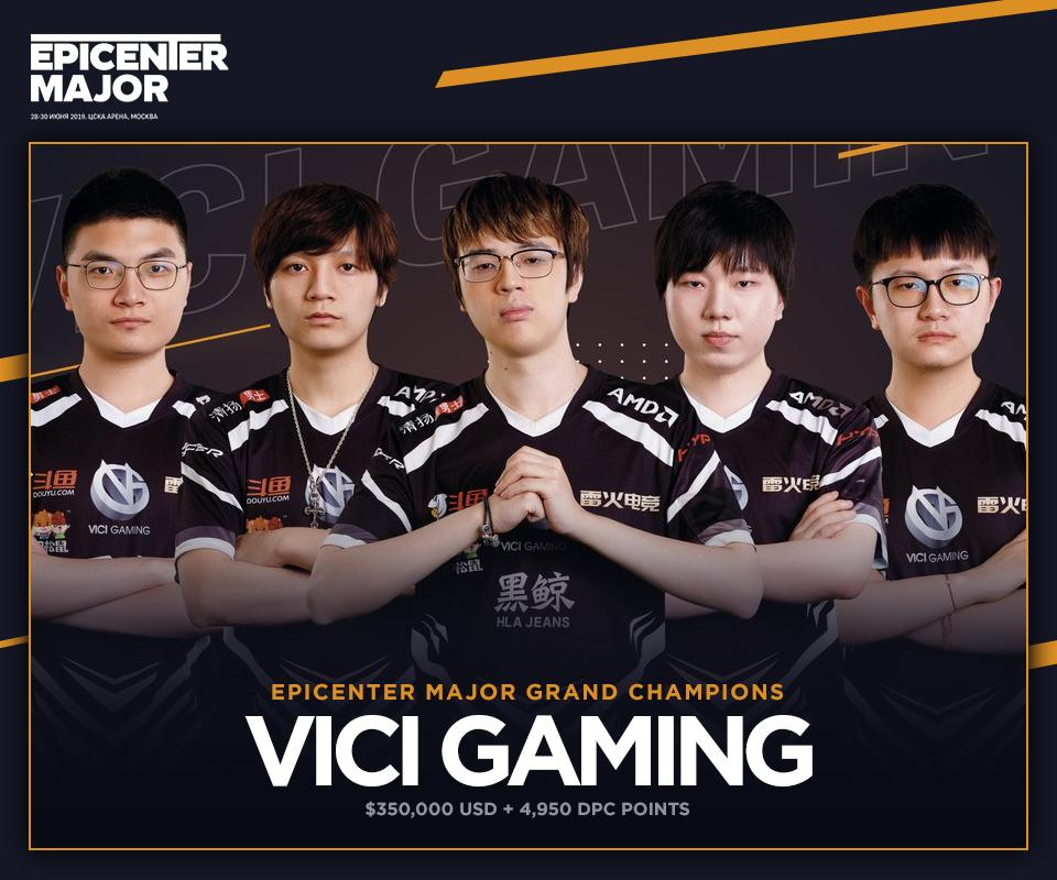 [DOTA 2] Vici Gaming là nhà vô địch của Epicenter Major sau BO5 căng não với team Liquid