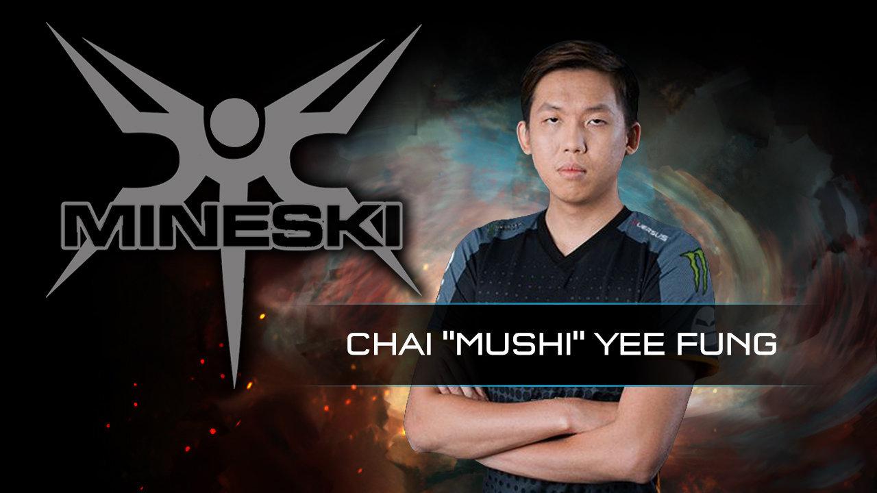 [DOTA 2] Huyền thoại Mushi trở lại đấu trường The International cùng Mineski