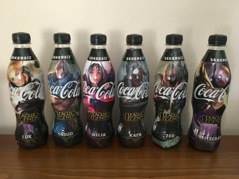 [LMHT] Người hâm mộ Thổ Nhĩ Kỳ có thể mua chai nước Coca-cola hình nền LMHT