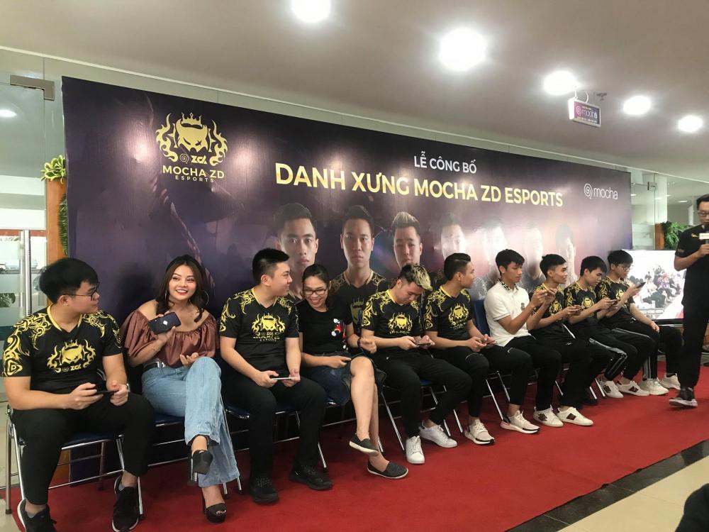 [LQM] Lễ công bố danh xưng Mocha ZD Esports