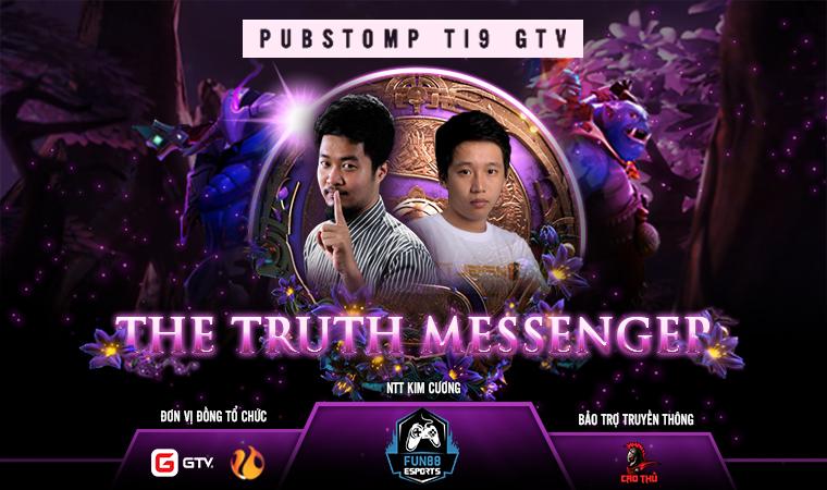 Lượng vé tham dự PUBSTOMP TI9 - THE TRUTH MESSENGER đang ''bốc hơi'' một cách siêu nhanh