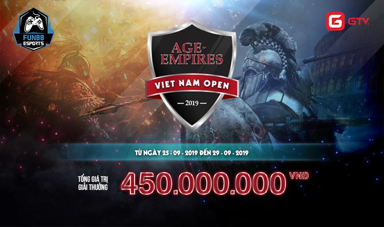 AoE Việt Nam Open 2019: Lịch trình thi đấu các vòng và chung kết tổng