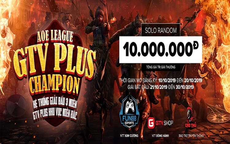 Cập nhật danh sách đăng kí, lịch thi đấu giải GameTV Plus Champion