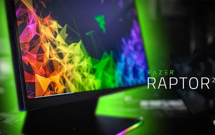 Razer phát hành Gaming Monitor mới: Razer Raptor