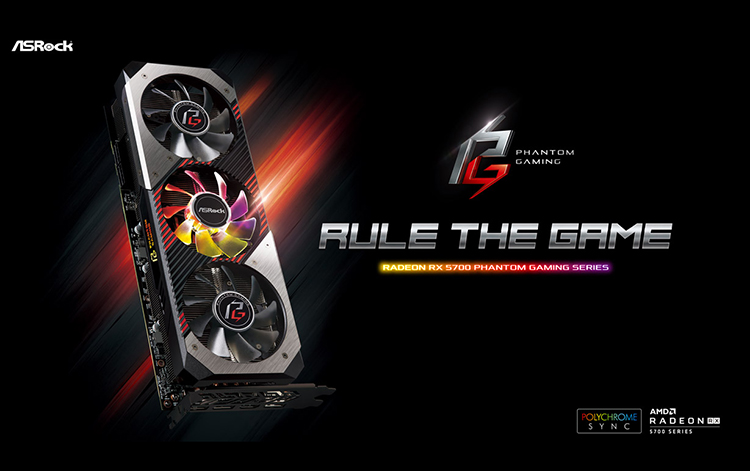 ASRock cho ra mắt Radeon RX 5700 Phantom Gaming Series