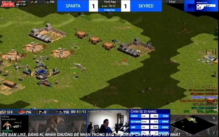 Xin 2 đơn vị quân đời 2, liệu Sparta có bị xử thua?