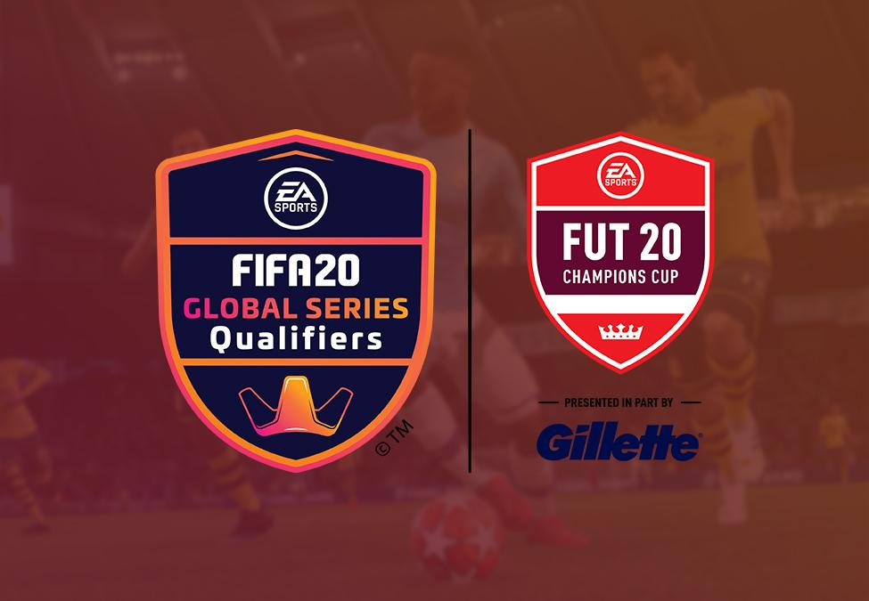Gillette trở thành nhà tài trợ của FIFA 20 Global Series