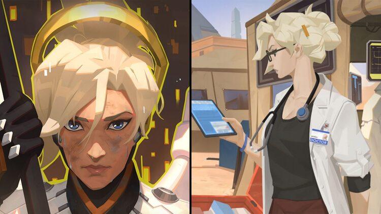 Overwatch ra mắt truyện ngắn về Mercy
