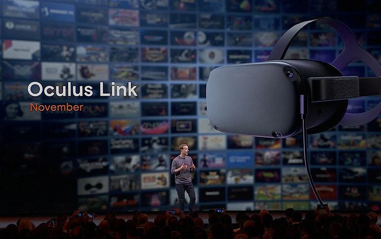 VR Oculus Quest đã có thể sử dụng VRPC với Oculus Link