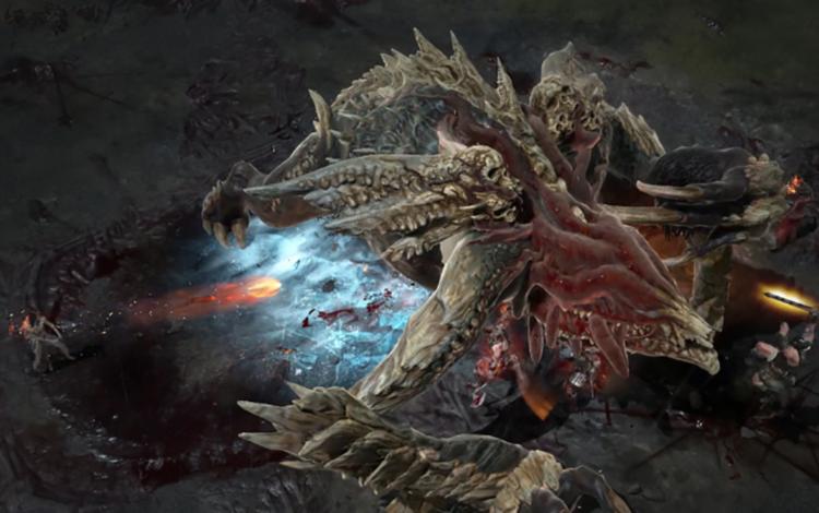 """Cận cảnh """"săn"""" World Boss trong Diablo 4"""