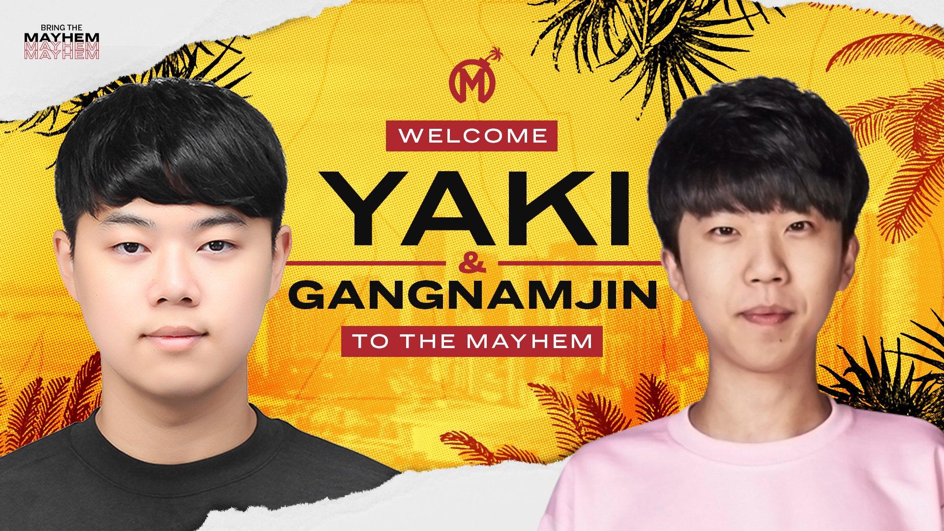 Florida Mayhem chiêu mộ Yaki và Gangnamjin từ RunAway