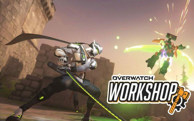 Talent Genji của Overwatch 2 đã được mô phỏng trong chế độ Workshop