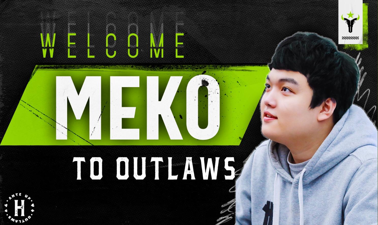 MekO gia nhập Houston Outlaws