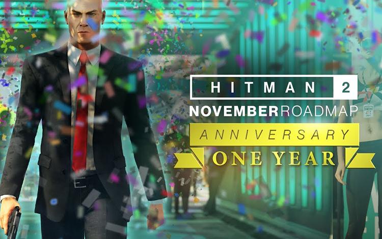 Hitman 2: Bản cập nhật kỷ niệm 1 năm ngày ra mắt