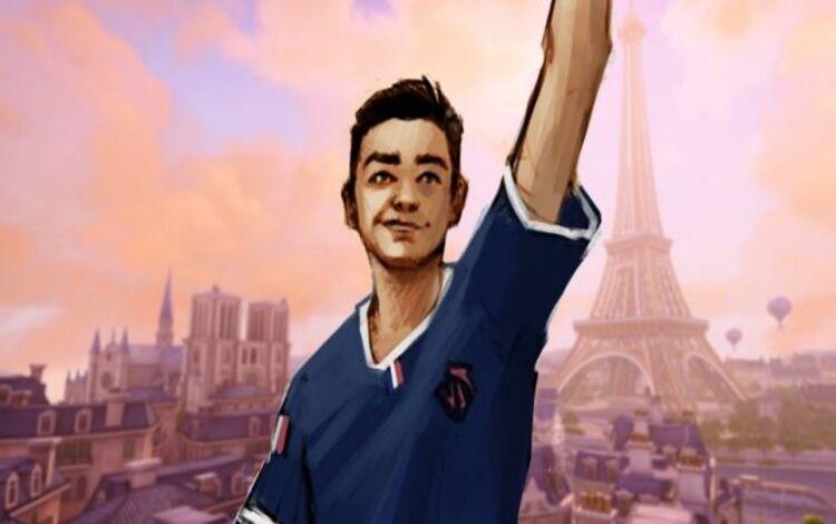 Cộng đồng Pháp muốn đưa hình ảnh thành viên qua đời của đội World Cup lên bản đồ Paris