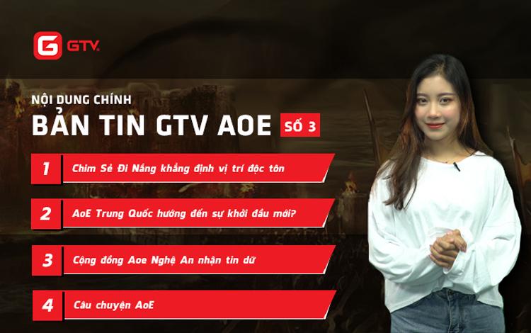 Bản tin AoE GTV: Chim Sẻ Đi Nắng