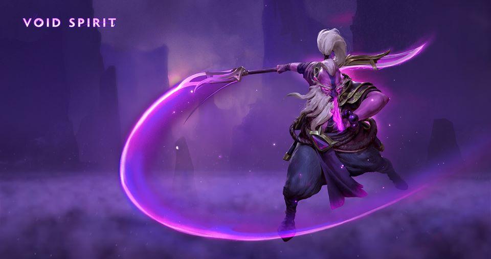 Inai The Void Spirit chính thức tham chiến Dota 2