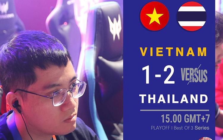 Thất bại trước người Thái, 496 Gaming nói lời chia tay với giấc mơ vàng SEA Games 30