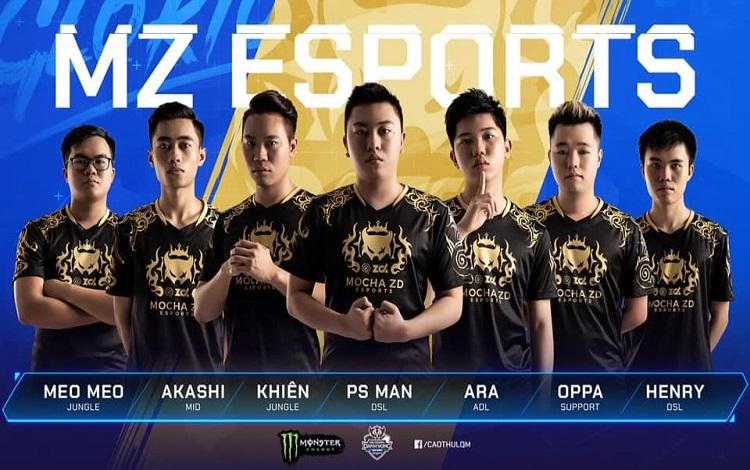 Mocha ZD Esports thay đổi để tồn tại