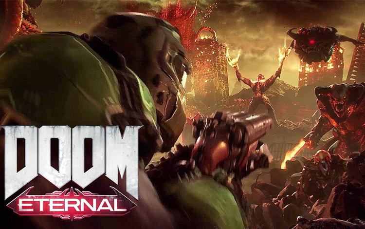 Game bom tấn trong năm 2020: Doom Eternal