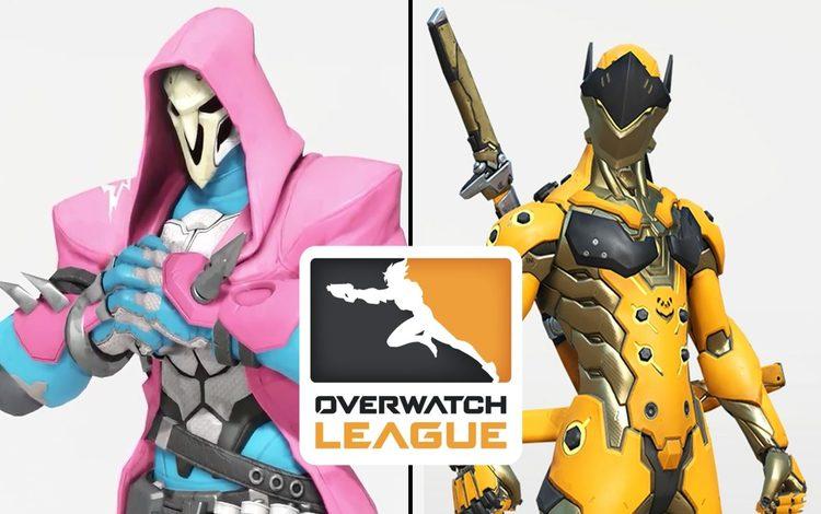 Sẽ có những trang phục Overwatch League mới trong mùa giải 2020