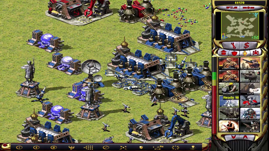 Game chiến thuật cũ những năm 2000 - Red Alert 2