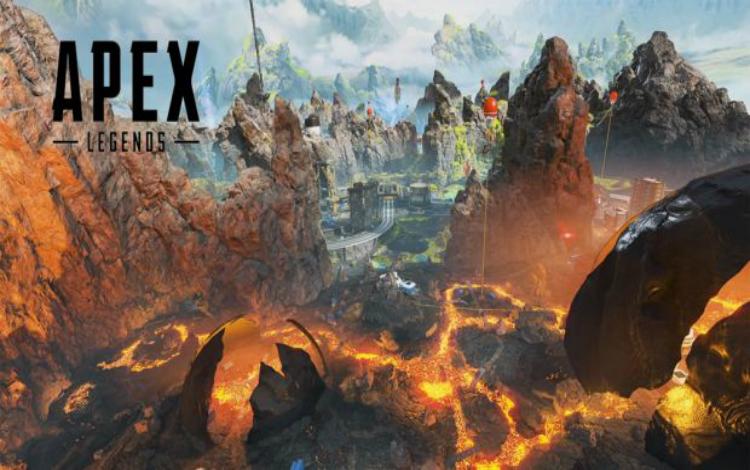 Cùng xem TSM Albralelie hướng dẫn loot đồ ngay trên dung nham Apex Legends