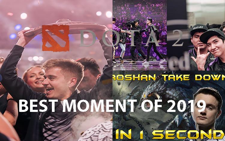 Nhìn lại 5 khoảnh khắc ấn tượng nhất của Dota 2 thế giới trong năm 2019