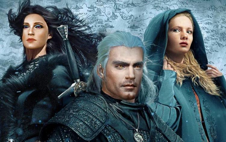 Xuất hiện Geralt với gương mặt Henry Cavill trong The Witcher 3: Wild Hunt
