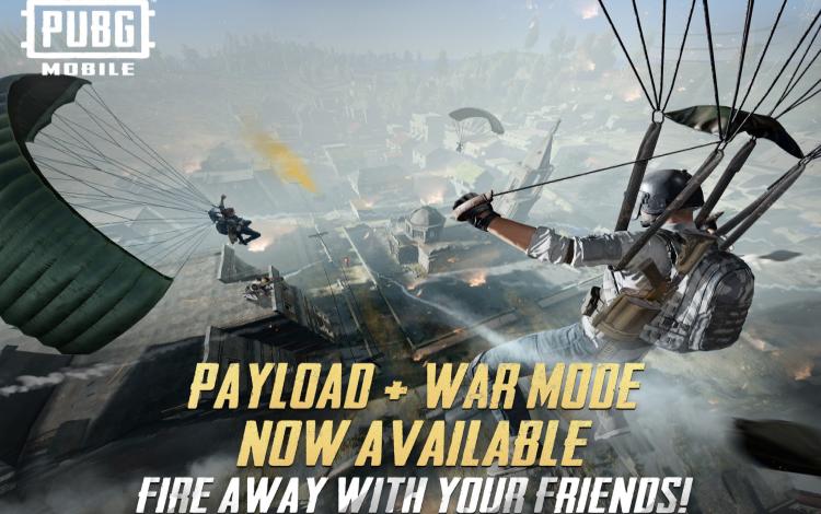 PUBG Mobile ra mắt chế độ chơi mới Payload + War cực hấp dẫn