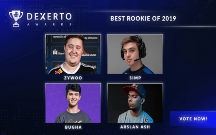Ai là tân binh tuyệt vời nhất làng thể thao điện tử 2019?