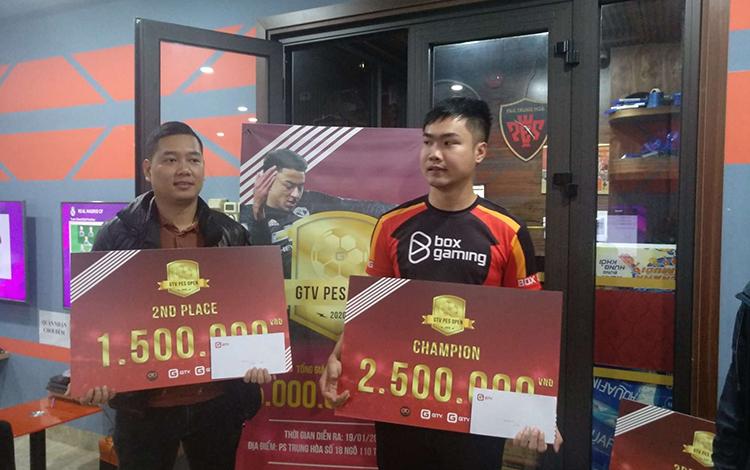 Tuấn Anh giành chức vô địch GTV PES OPEN CUP 2020 hoàn toàn thuyết phục