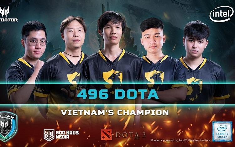 Chung kết Predator League 2020 khu vực Việt Nam: Ngôi vương gọi tên 496 Gaming